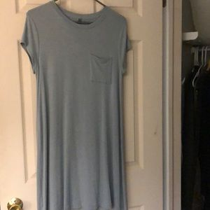 J Jill Pure Jill tee shirt dress.